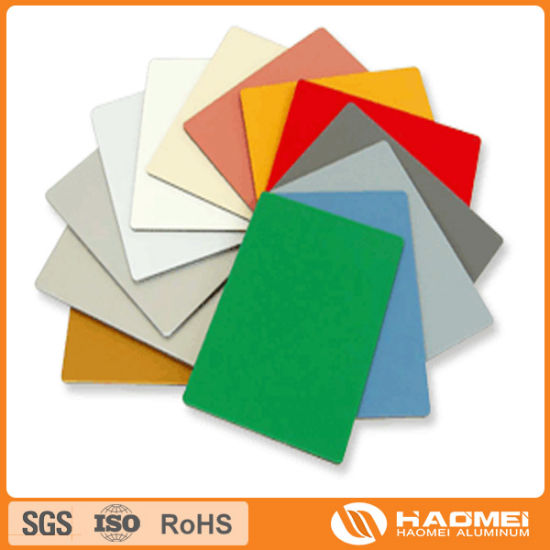 color painted aluminum sheet in China pictures & photos
