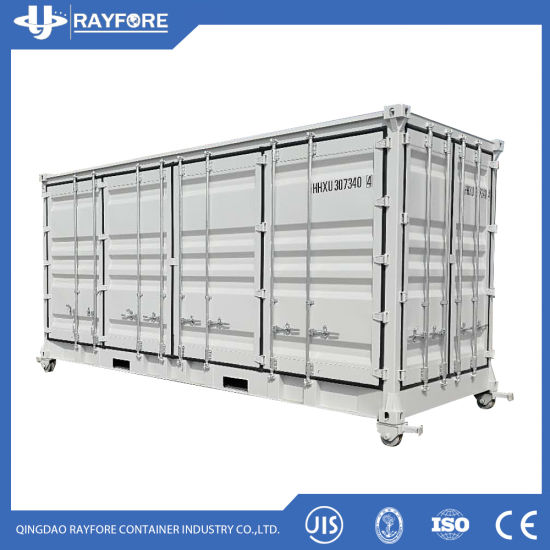 Qingdao Factory Customized Hot Sale 20FT Full Side Open Container
