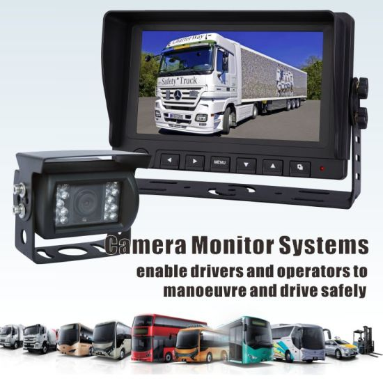China 9 Inch Digital Wireless Monitor Rearview Camera System For Rv