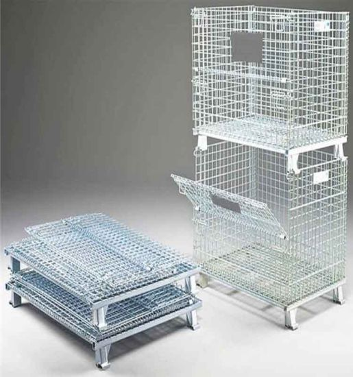 Metal Cage/ Storage Wire Mesh Container Cage