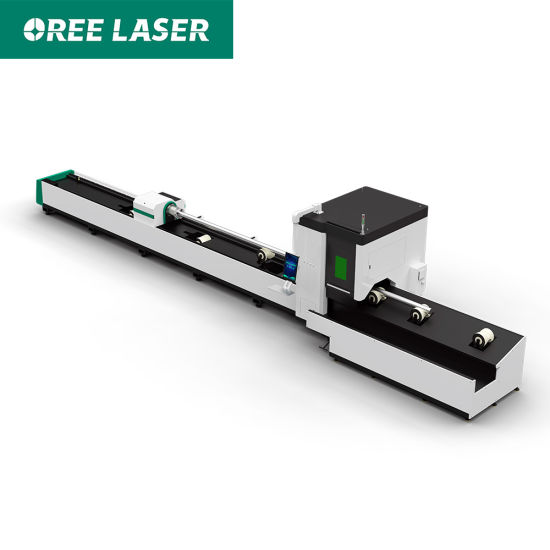 Factory direct high quality 2000W tube CNC aluminum iron pipe fiber laser cutting machine for metal