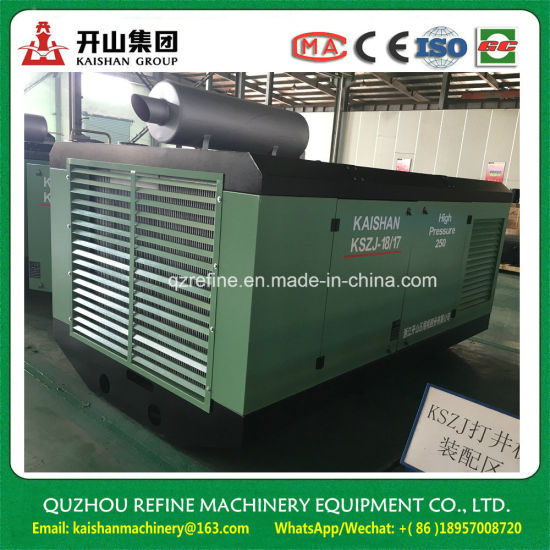 Kaishan KSZJ18/17 Screw Air Compressor For Water Well Drilling