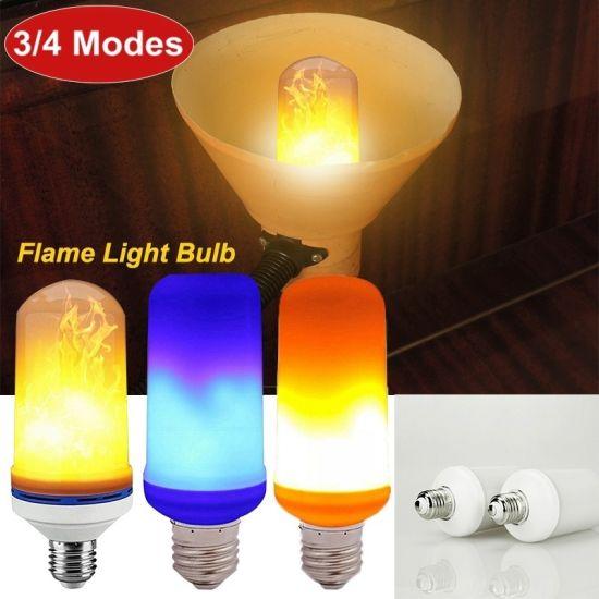 China LED Flame Light Bulb Effect Fire Light Bulb Creative