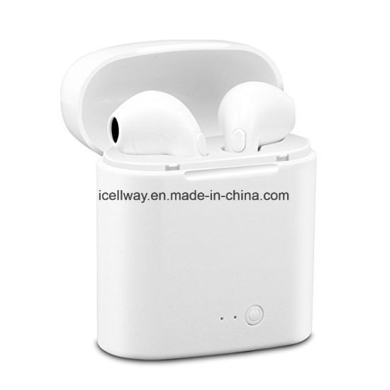 buy popular fc966 8b416 I7s Tws Earbuds in Ears Wireless Bluetooth Double Earphones Twins Stereo  Music Headset for Apple iPhone X 8 8s Samsung LG Androids