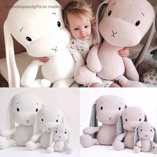 25-70cm Big Size Soft Stuffed Plush Baby Toy Cute Cartoon Rabbit