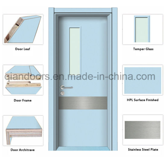 Sliding Door With Vision Panel on