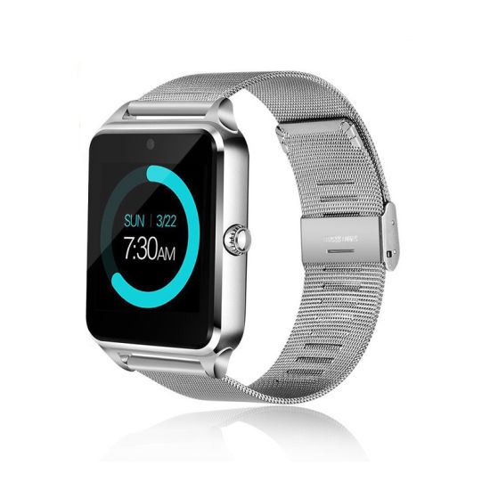 47c247383cb Smart Watch Z60 Bluetooth Wrist Smartwatch Support SIM TF Card for Mobile  Phone