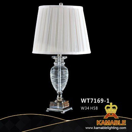 Modern Fashion Simple Decorative Crystal Table Lamp (WT7169-1)