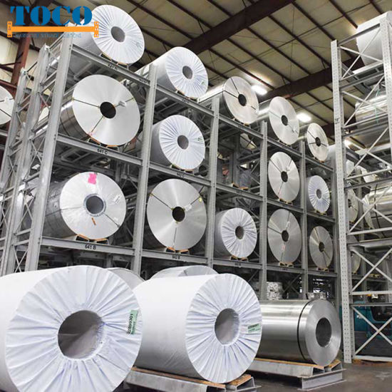 Cold Rolled Steel Coil Warehouse Rack