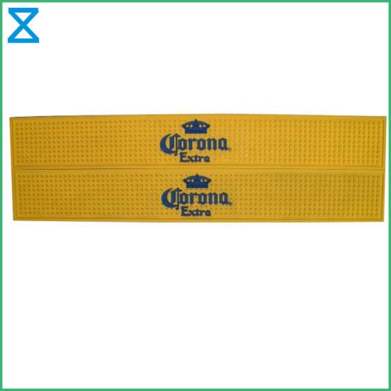 Factory Supplying PVC Rubber Silicone Bar Mat for Bar Restaurant Gifts
