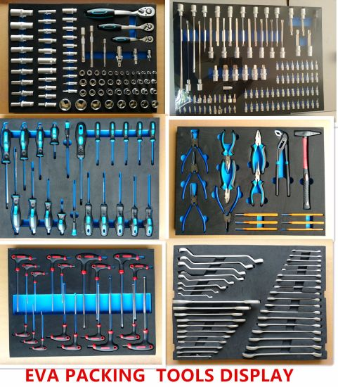 7drawers Heavy Duty Trolley Tool Set in EVA Packing (FY262A) pictures & photos