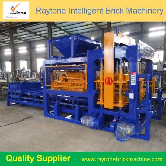Qt8-15b Full-Automatic Cement Hollow Block Making Machine Brick Machinery