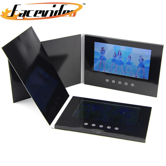 China wholesale paper craft design 7 inch lcd tft screen video wholesale paper craft design 7 inch lcd tft screen video printed brochure video book greeting card for gift business m4hsunfo