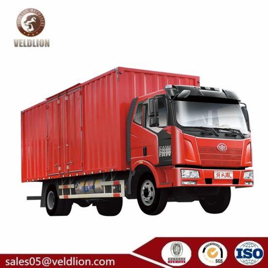 FAW 16ton Cargo Truck, Cheap 16 Ton Box Trucks, 16t Van Box Truck