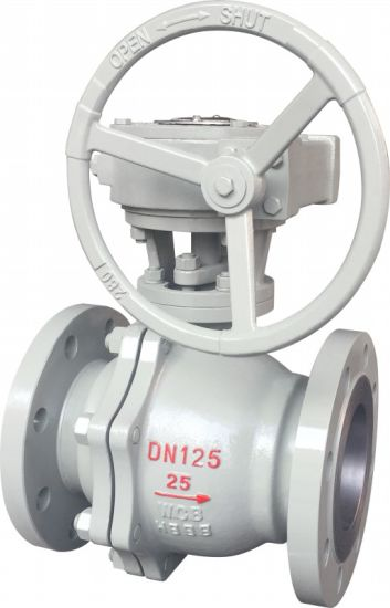 API 6D 150lbs Wcb Flanged Floating Ball Valve