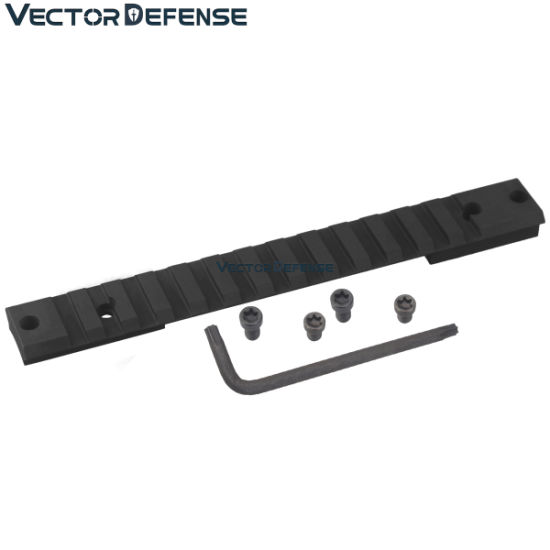 Vector Optics Tactical 20 Moa Steel Remington 700 Long Action Picatinny Rail With Scope Mount Base Adapter