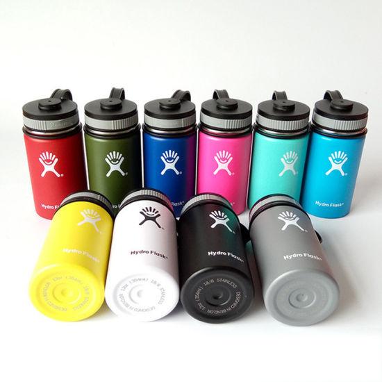 Water 40oz Stainless Mouth Bottle Insulated Flask Hydro Wide Flip 14oz Lid Straw 18oz 36oz 12oz Steel 10oz 16oz 64oz Spout H92WDIE