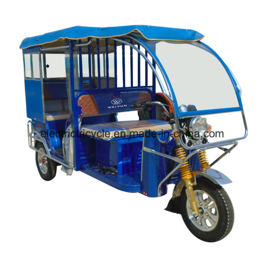 Asia Hottest Electric Tricycle, Passenger Trike Tricycle