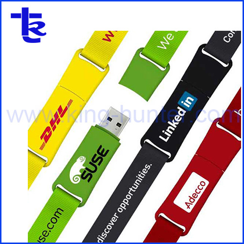 Business Promotional Gift Colorful Lanyard USB Memory Drive Disk pictures & photos