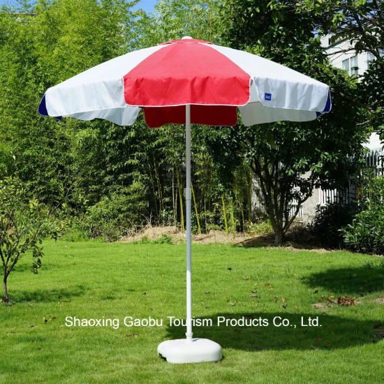Beach Umbrella with Mesh Pocket pictures & photos