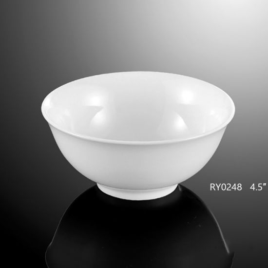 White Porridge Bowl for Luxury Hotel & Restaurant pictures & photos