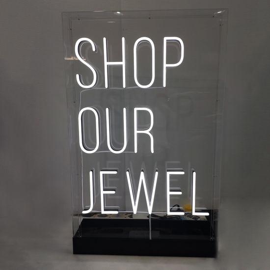 Light Up Letter Sign Led Neon Box