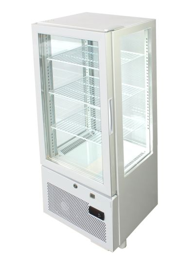 Automatic Defrost 4 Sided Display Upright Chillers Yy-78f