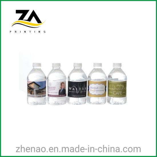 Newest Paper/ PVC Beverage Bottle Sticker Fruit Juice Bottle Sticker