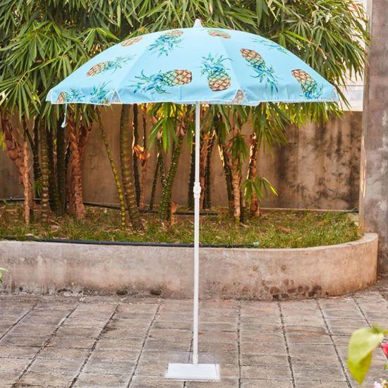 Custom Outdoor Sonnenschirm Beach Patio Umbrella Guarda Sol Bali Aluminum Beach Big Umbrella Outdoor