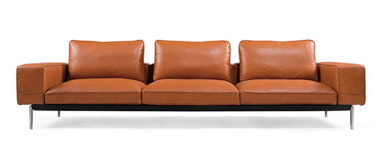 Customized Modern Home Furniture Living Room Leather Sofa