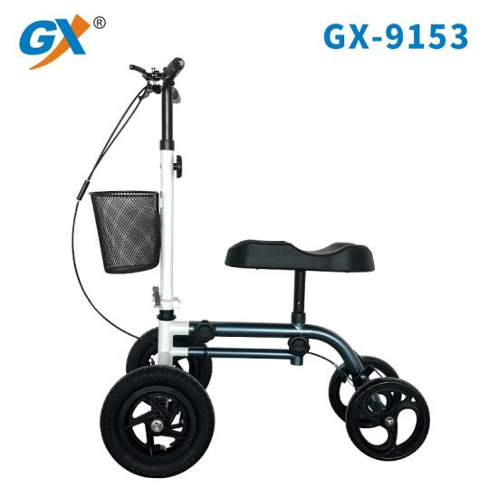 The Best Knee Walker Scoot with Larger Front Wheels