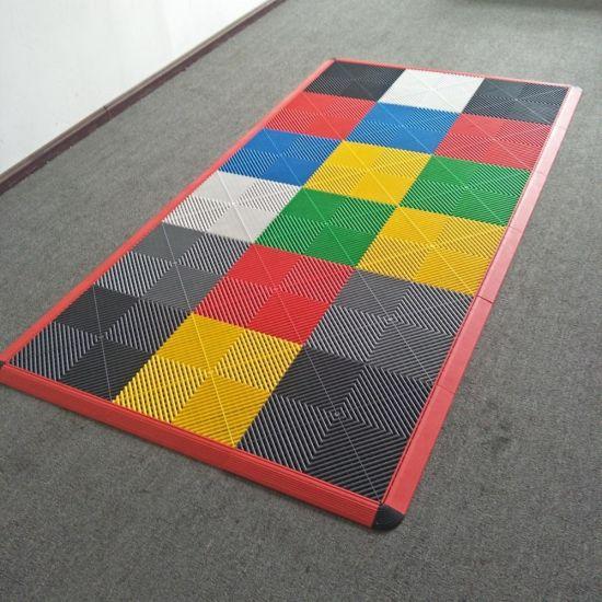 China Garage Floor Mat Pvc Vinyl Tile, Carpet Tiles For Garage Floors