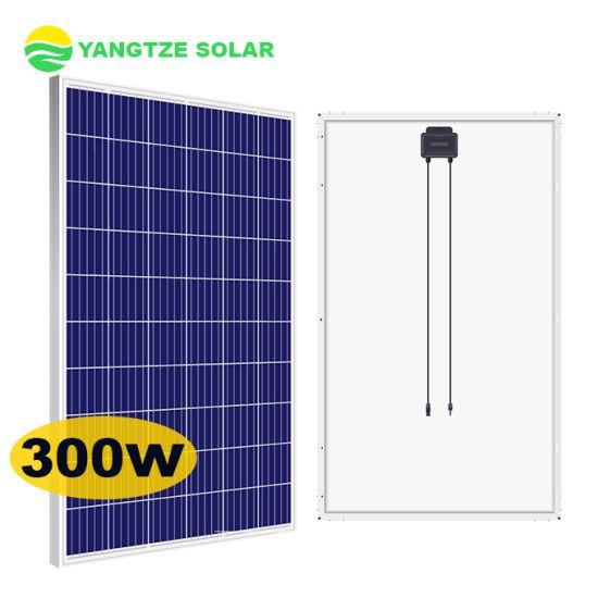 Yangtze Solar Cheap Price Solar Panel Poly 280W 290W 300W 310W 320W