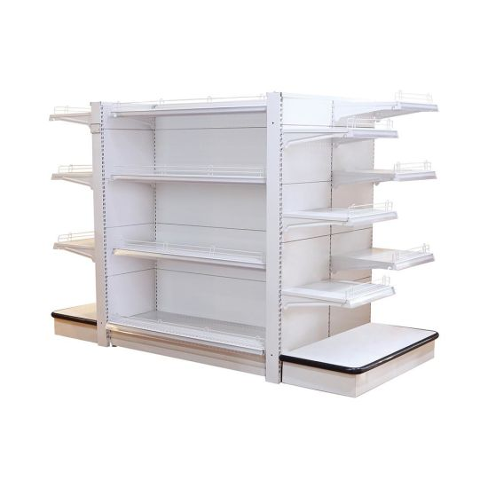 Supermarket Store Skincare cosmetic Products Display Rack with Light