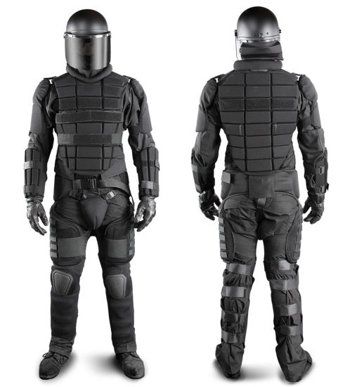 Anti-Riot Extreme Suit Including Aluminium Stab Plate Anti Riot Suit Taiwan Style