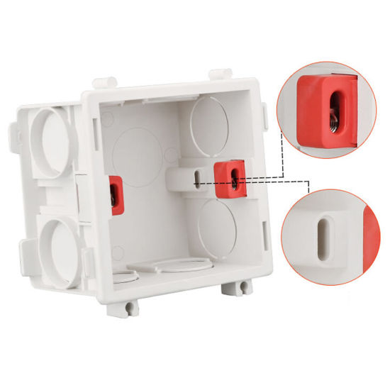 China Pvc Electrical Wall Switch Wiring Slot Conduit Junction Box China Switch Box Conduit Box