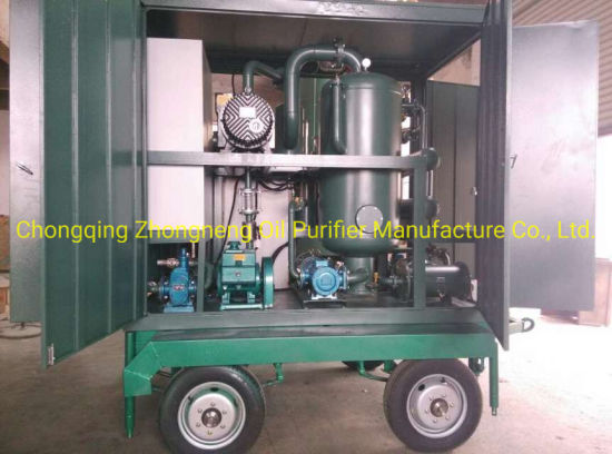 Outdoor Mobile Double Stage Vacuum Insulating Oil Recovery Machine