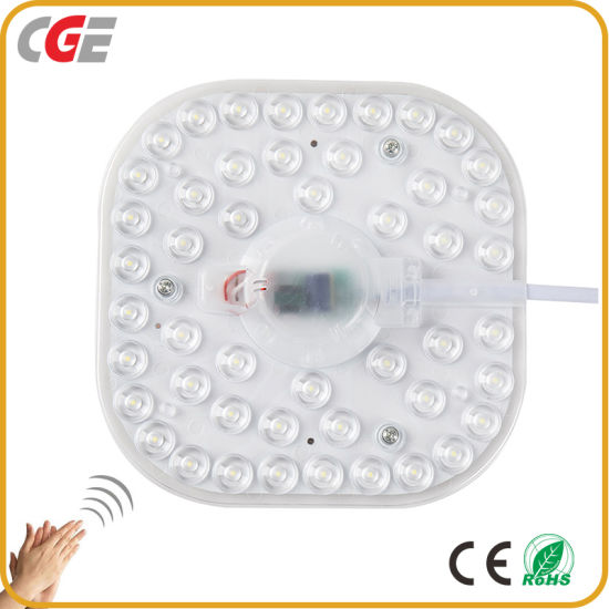 Ce Replace Dark Light Source 12W 18W 24W Round SMD Magnet Ceiling Light LED Module Sound-Light Controlled