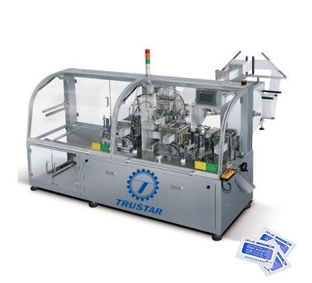 Automatic Alcohol Prep Pads Packing Machine Alcohol Swab Pad Making Machine