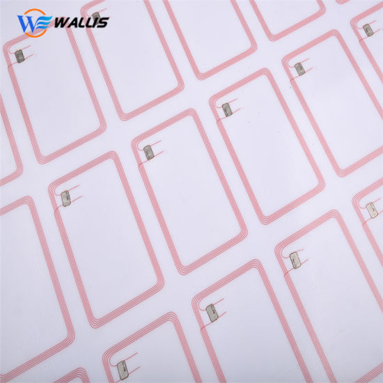 Ultrathin PVC Plastic RFID Inlay Prelam Sheet for RFID Smart Card Making