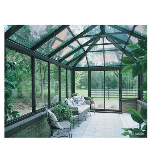 Latest Design Prefab Glass Garden House Sunroom with Aluminum Extrusion Profile
