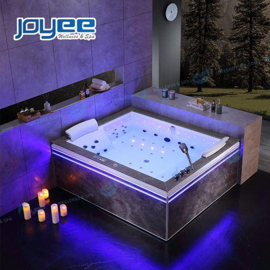 China Joyee Large Bathtub Size Modern Massage Bathtubs For Two Person Baths China Jacuzzi Hot Tub