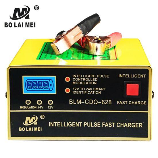 12 V 24 V Smart Motorbike & Auto Electronic Universal Car Battery Charger