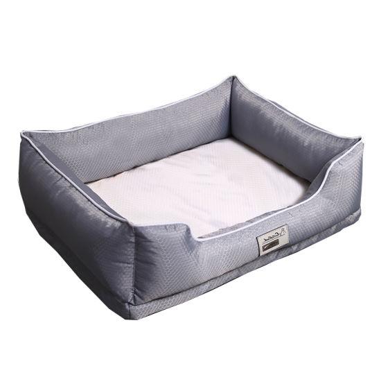 Breathable Mesh Cloth Memory Foam Pet Bed Dog Sleeping Sofa Supply