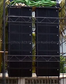 "J8&J-Sub Dual 12"" Line Array Tops and Double 18"" Bass Active Speaker System J8 Line Array (VT48865)"