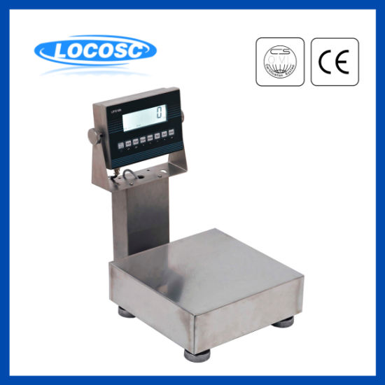 10kg 30kg 50kg Washdown Platform IP68 Waterproof Design Weighing Bench Scale