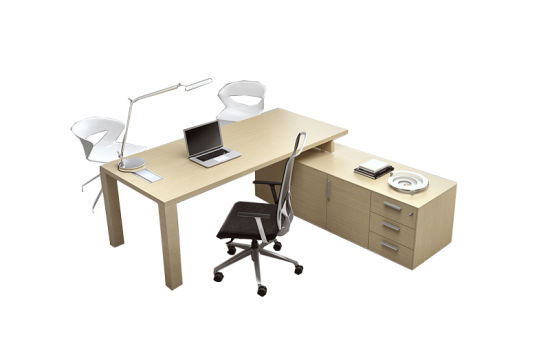 Office Furniture Melamine Modern Executive Office Desk (HYDK1047)
