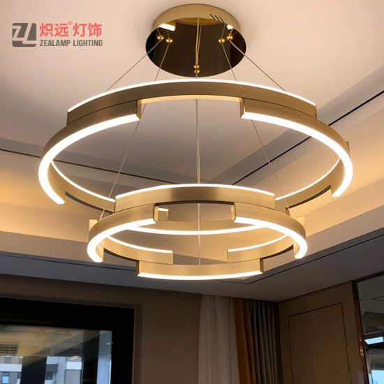 Fancy Modern Acrylic Led Hanging Light, Fancy Lights For Living Room