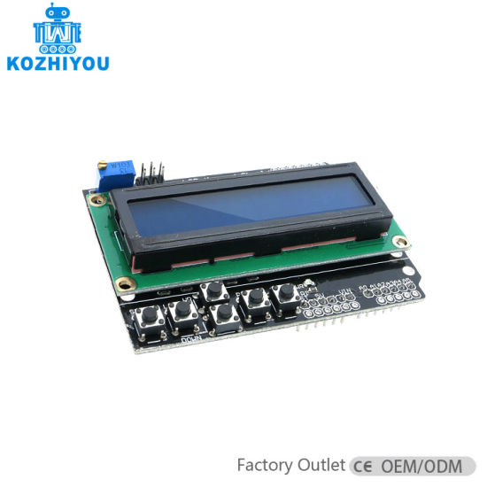 LCD 1602 Keypad Shield for Arduino Duemilanove Uno Mega2560 Mega1280