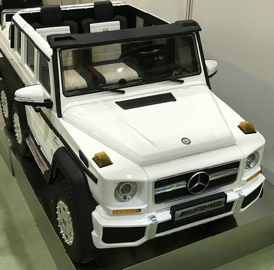 Licensed Mercedes Benz Ride On Toy With Remote Control For Kids 12v Battery Car Pictures